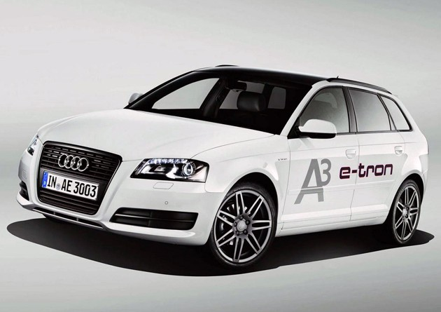 Audi A3 e-tron full view