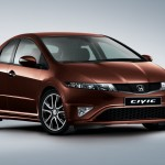 Honda Civic facelift full view