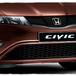 Honda Civic facelift grill