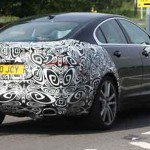 Jaguar XF Facelift back
