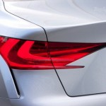 Lexus LF-Gh rear headlight