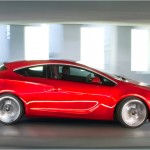 Opel Astra GTC full view