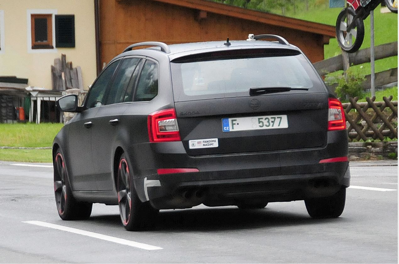 2015 Skoda Octavia RS Plus