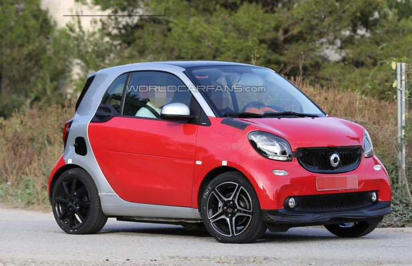 2015 smart fortwo by brabus spied motor exclusive. Black Bedroom Furniture Sets. Home Design Ideas