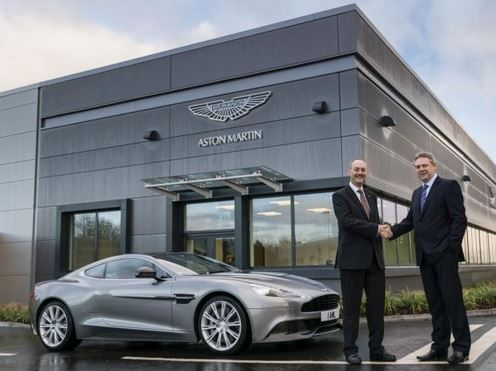 Aston Martin development center