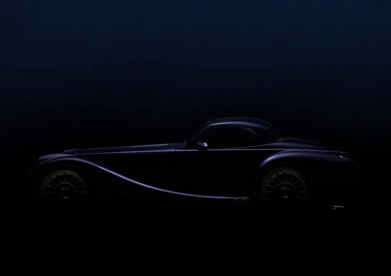 Morgan car teaser