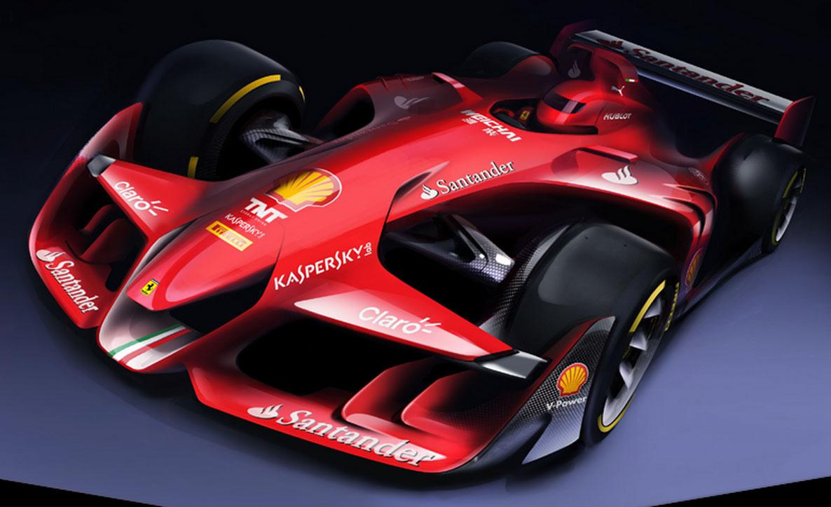 The Future Formula 1 Car