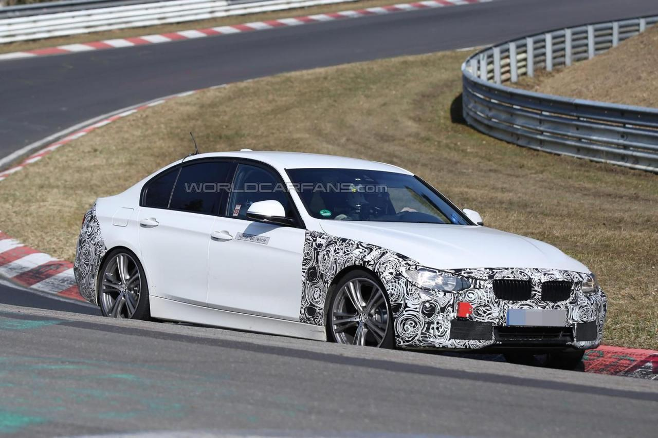 2016 BMW 3-series facelift plug-in hybrid