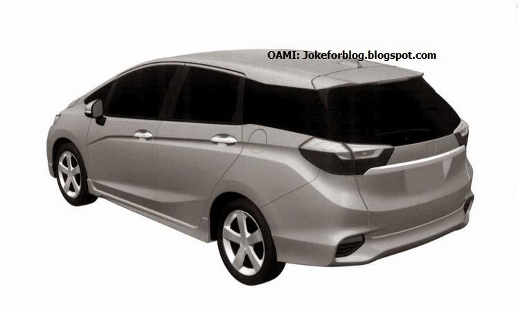 Honda Shuttle patent drawing