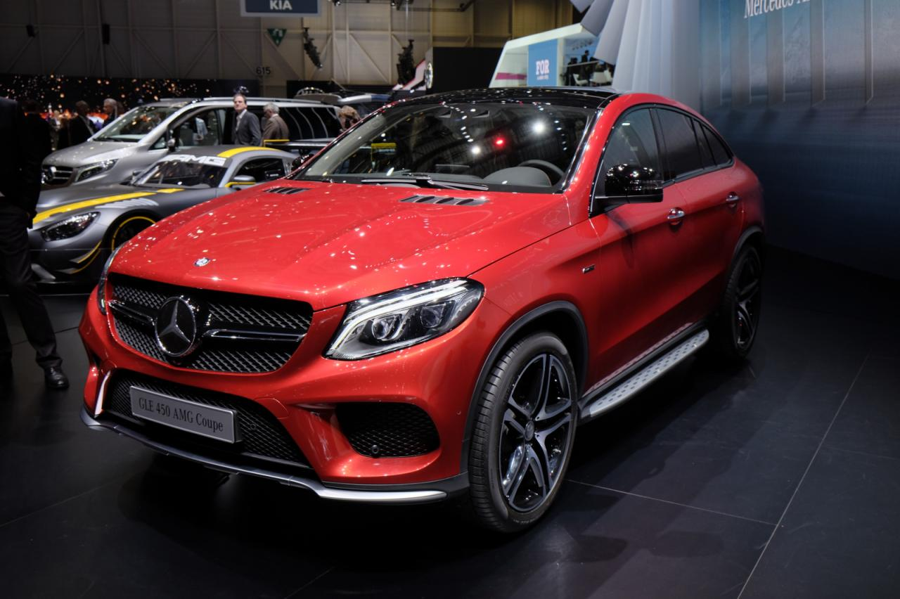 mercedes gle 450 amg coupe revealed motor exclusive. Black Bedroom Furniture Sets. Home Design Ideas