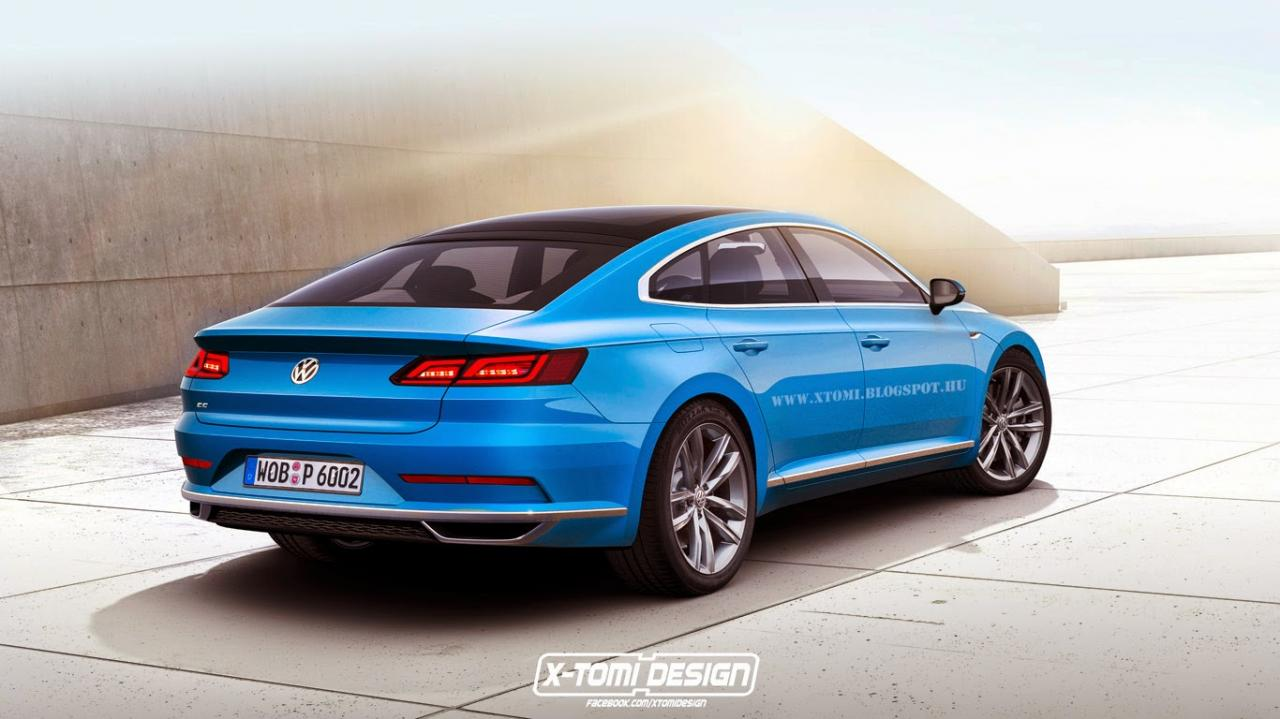 Next–generation Volkswagen CC