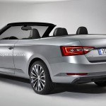 Skoda Superb Convertible rendering