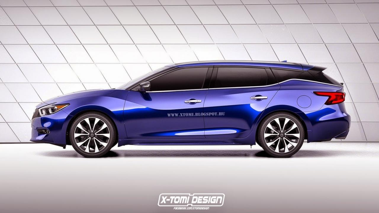 2016 Nissan Maxima Coupe and Wagon Versions Imagined | Motor Exclusive