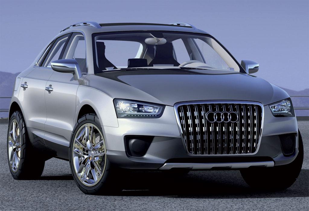 Audi Q3 full view