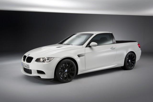 BMW M3 pick-up full view