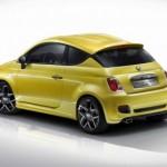 Fiat 500 Coupe Zagato back