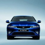 Honda Civic facelift front