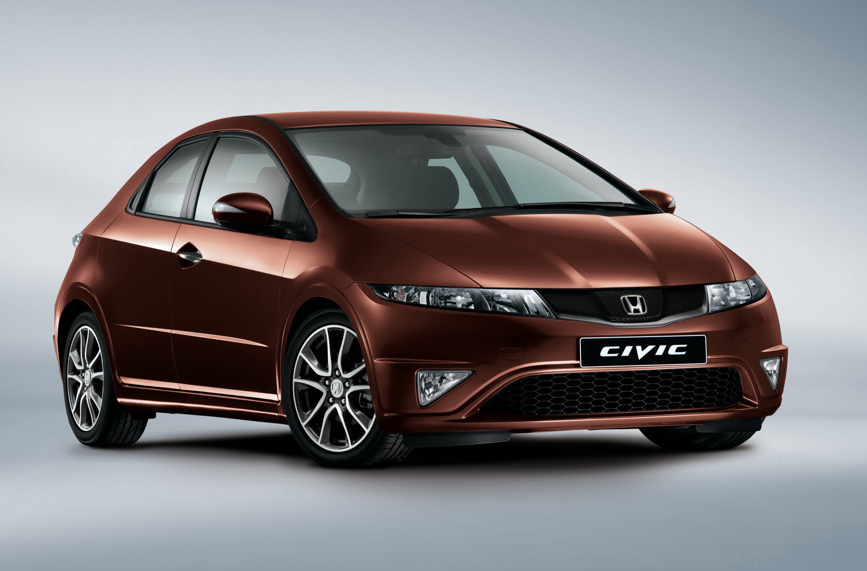Honda Civic facelift full view