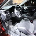 Lexus CT200h inside