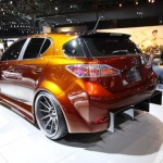 Lexus CT200h rear