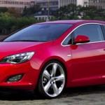 Opel Astra GTC angle