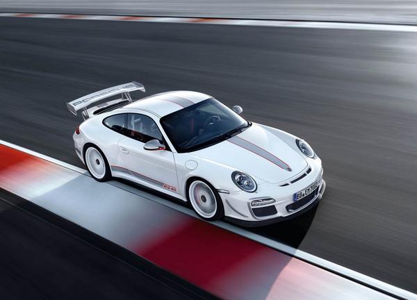 Porsche 911 GT3 RS 4.0 full view