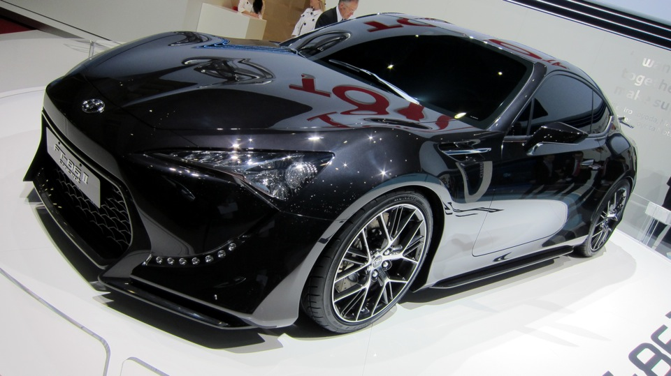 Toyota FT-86 at Geneva Motor Show