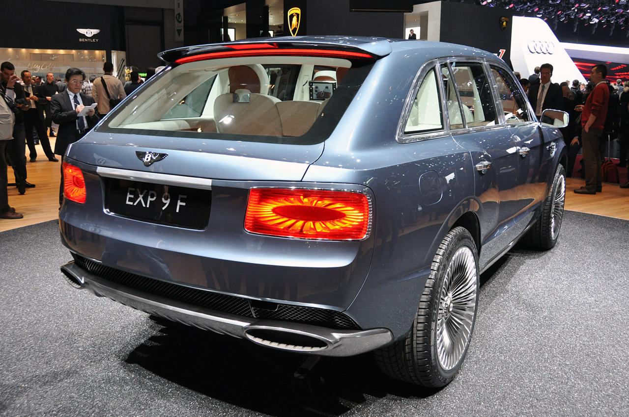 Bentley EXP 9 F Concept in Geneva