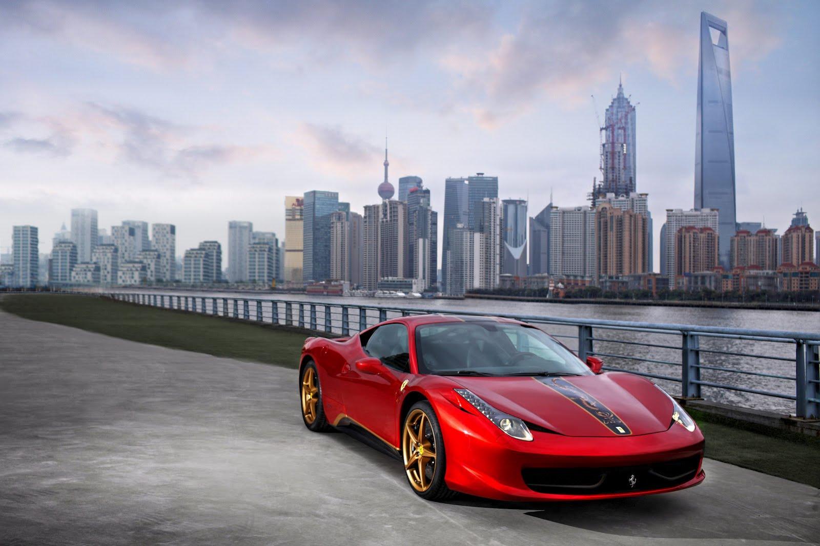 Ferrari 458 Italia China anniversary edition