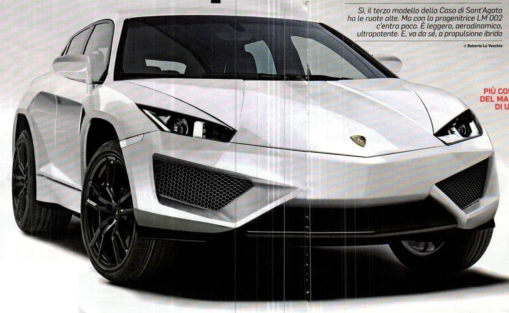 Lamborghini SUV leaked images