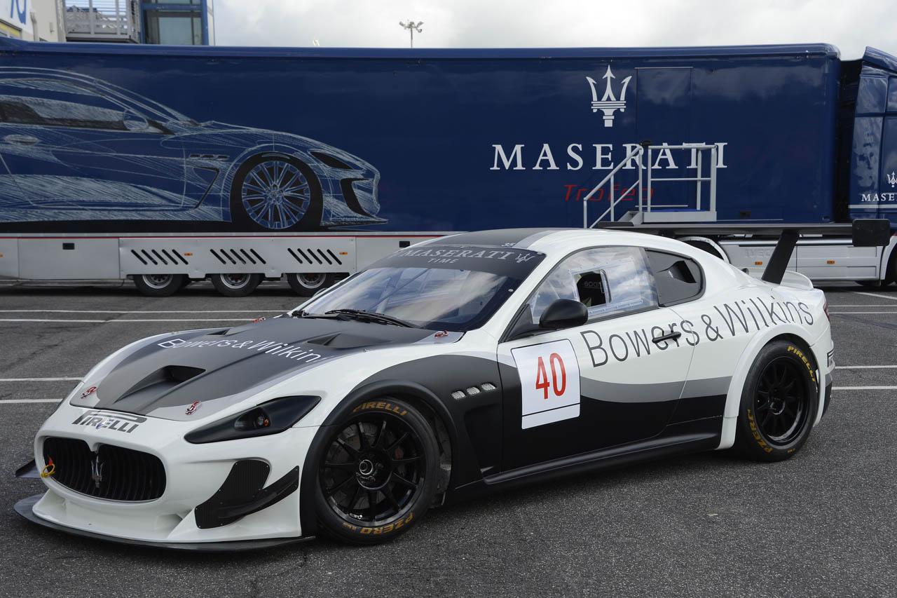 2012 Maserati GranTurismo Trofeo
