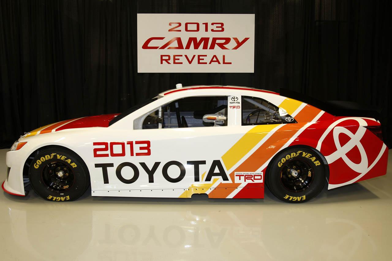 2013 Toyota Camry NASCAR racer