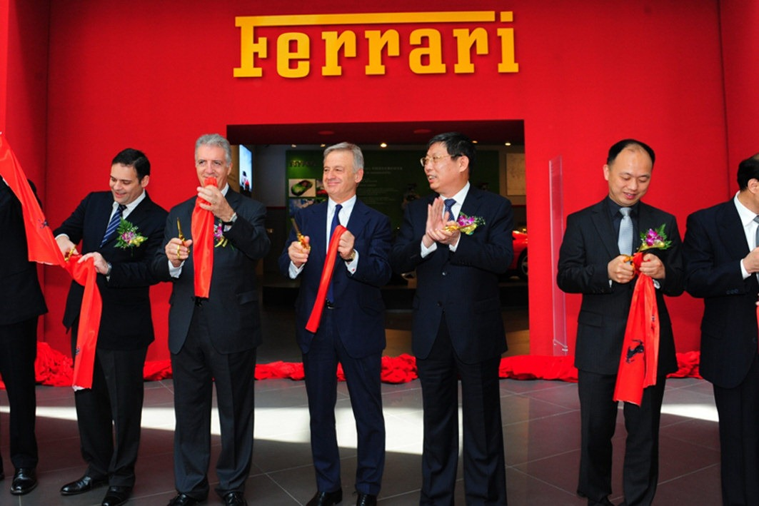 Ferrari Myth exhibition