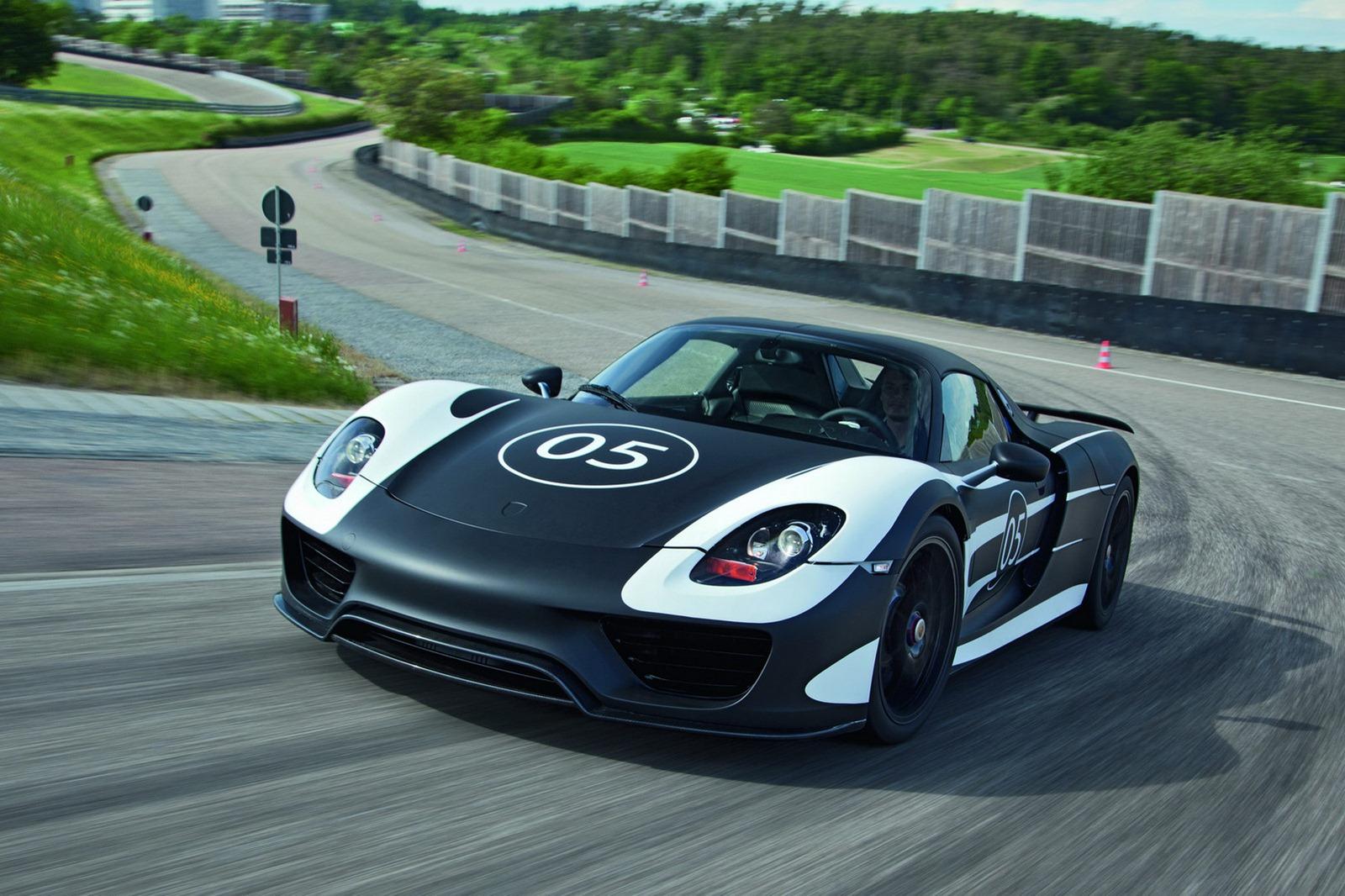 Porsche 918 Prototype