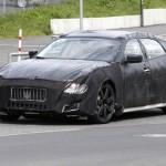 2014 Maserati Quattroporte spied