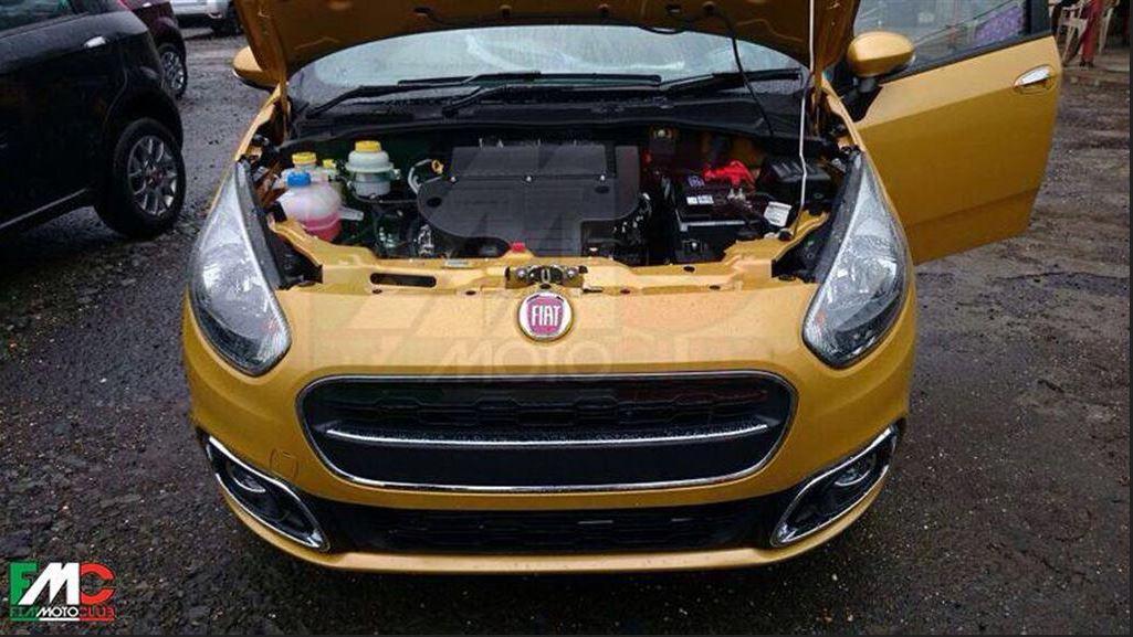 2015 Fiat Punto Facelift