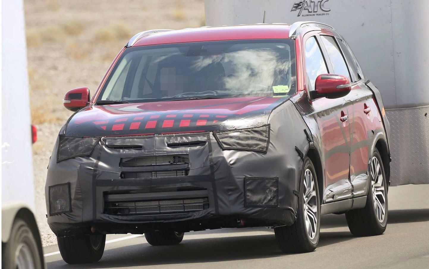 Mitsubishi Outlander Facelift
