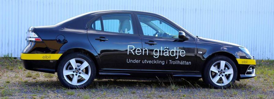Saab 9-3 EV Prototype
