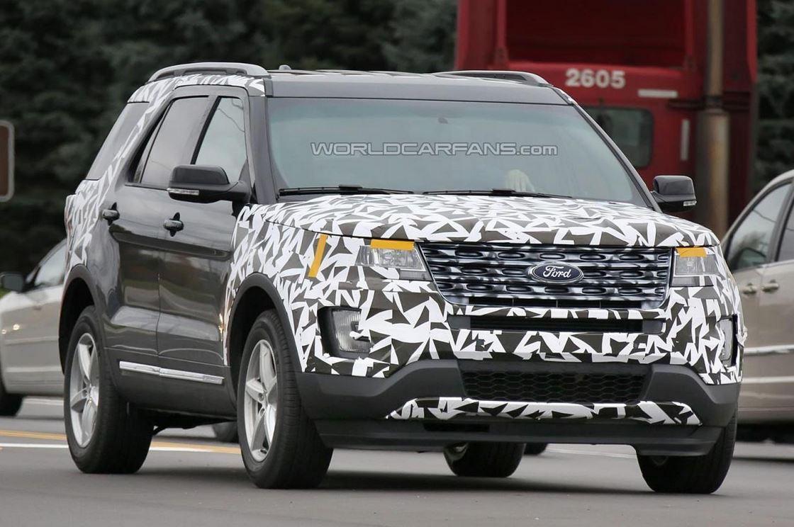 2016 Ford Explorer facelift
