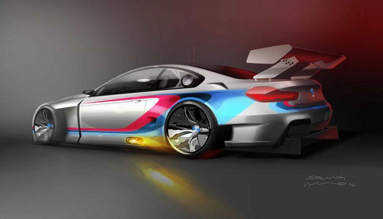 BMW M6 GT3 teaser