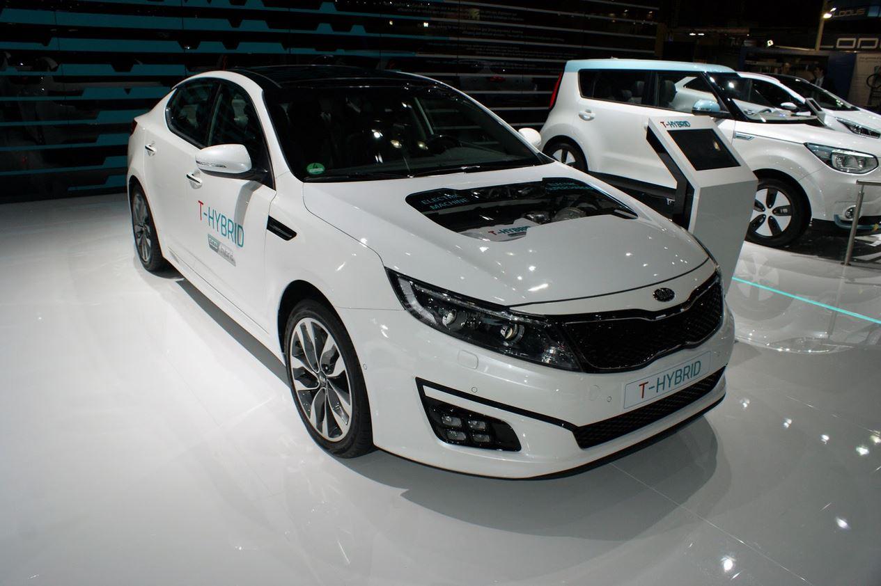 Kia Optima T-Hybrid Concept