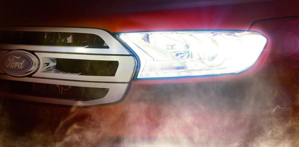 2015 Ford Everest teaser