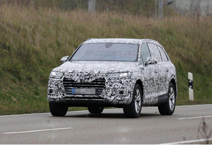 2016 Audi Q7 Spied