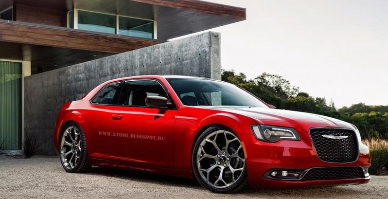 Chrysler 300S Coupe render  X-Tomi Design