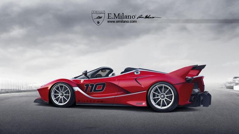 Ferrari FXX K Spider