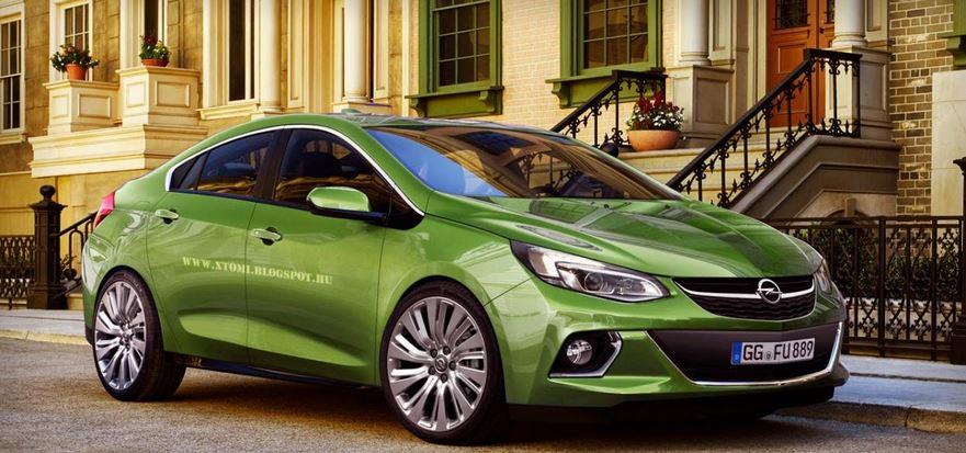 2016 Opel Ampera rendering