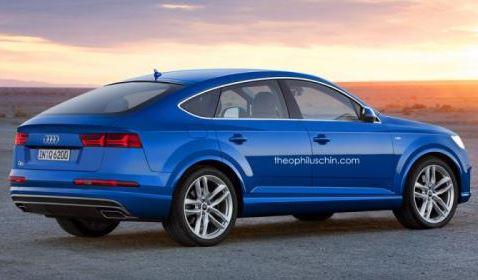 Audi Q6 rendering