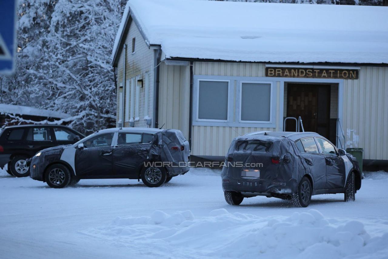 Kia Sportage spy photo