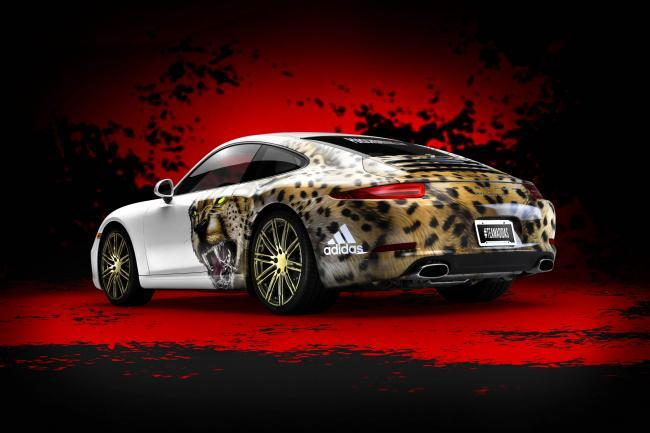 Porsche 911 by Adidas