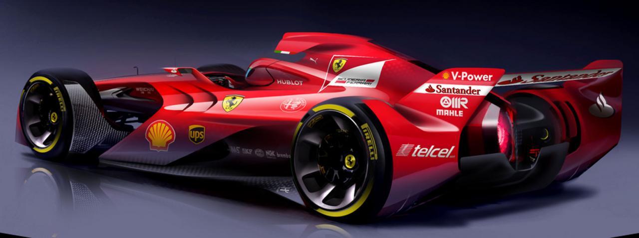 The Future Formula 1 Car